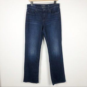 Lucky brand easy rider dark relaxed fit jeans 8